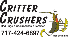 Critter Crushers - Pest Control Company, Logo
